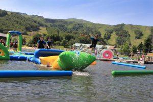 Baignade et espace aqualudique de Super-Besse en AUvergne