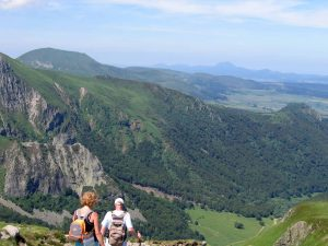 Randonnée au Puy de la Perdrix dans le Sancy