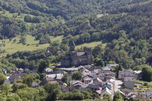 eglise et village de Saint-Nectaire