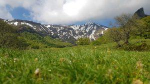 Vallée de CHaudefour, du Sancy au printemps