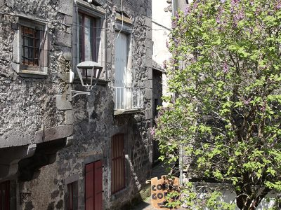 Helena room view from the window in Besse town
