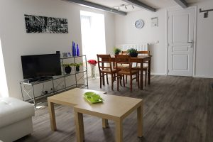 Living-room of an appartment for 2-4 people in Besse in Auvergne