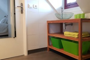 Bathroom of an appartment in Besse in Auvergne