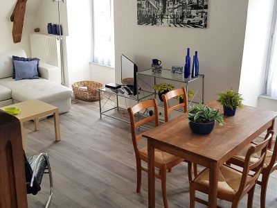 The living-room, for 2 or 4 people, with television in Besse in AUvergne
