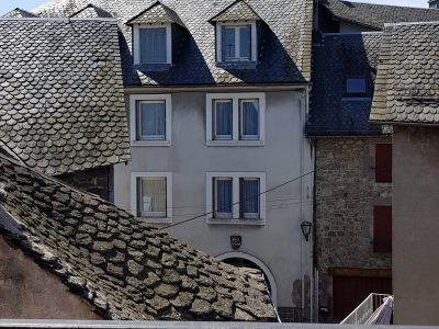 See from the window, appartment in Besse in Auvergne
